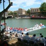 joutes languedociennes sur le fleuve herault