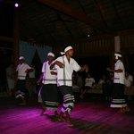 Maldives dance in the bar