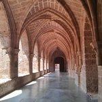 Monasterio de Piedra. Claustro