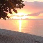 Sunset at HealthOasis Resort Koh Samui