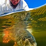 Capt. Lemmon with New Smyrna Beach, Florida Redfish