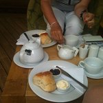 Our Cream Tea at The Rusty Bucket mmmmmmm