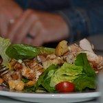 Salads were crisp and fresh!