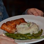 Salmon was excellent!