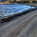 approach to Elounda Island Villas
