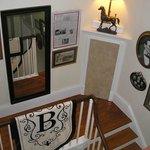 Bashford Manor, stairway