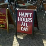 Happy hours all day July 2013
