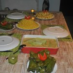 repas prepare par la gentille cuisiniere