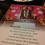 Kausstubh - great Indian food served here!