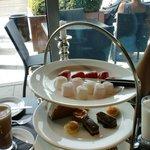 Chocolate afternoon tea