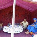 Tenda esterna alla casa