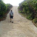 trail towards boka kalki