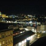 Excelentes vistas desde la habitacion (noche)