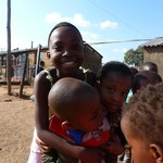 Soweto children - love to pose for pictures