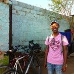 Thomas, our Soweto Bike Tour guide.