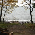 View of Lake Superior from cottage