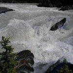 river before falls