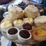 Small pot of clotted cream... shame
