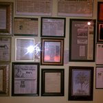 awards and food critic reviews when walking in our restaurant. 40 yrs in biz