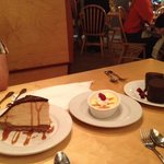 So many delicious desserts to choose from, we couldn't order just one!