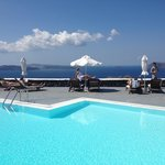 The wonderful strogili pool - who needs the beach (which is 1/2 hour away
