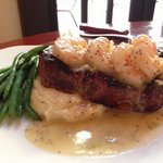 New York Strip & Shrimp