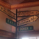 Old Signs From Before The Street Name Changed