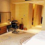 corner room living space