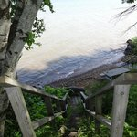Private, seclued beach