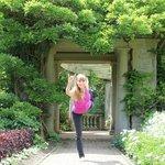 Yoga in Hatley Garden