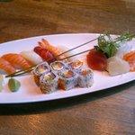 Sushi servert