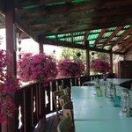 Cute restaurant deck