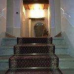 la bella scala che porta alle camere. Zlatan2005