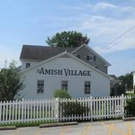 Tæt på Amish landsby