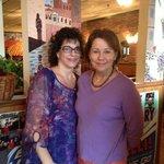 Bonnie Bambinelli, proprietor, on left