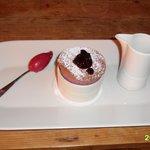 Black current souffle