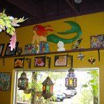 """The beautiful eclectic decorations are also one of my favorite things about """"the Mermaid!"""""""