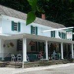 Valley Green Inn...quiet summer day.  The best!!!