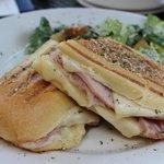 Ham & Cheese sandwich ~ Delish!