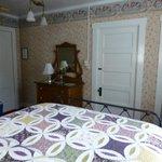 Nimitz Suite (#7) showing adjoining door to #6