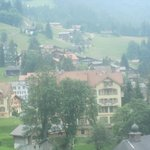 The village of Wengen