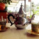 A spot of Moroccan Mint tea