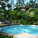Nice pool at the lodge