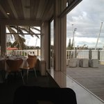 Stokehouse Upstairs - beach views from the table