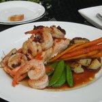Romantic dinner package - salmon & shrimp