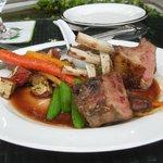 Romantic dinner package - lamb