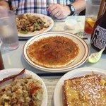 great Michigan Hash & Blueberry Pancakes!!