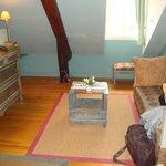 Blue Room Sitting Area