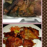 The below one was original Mr. Chan roast duck and the above one was from new owner.