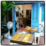Our cafe in Phnom Penh, street 240 1/2